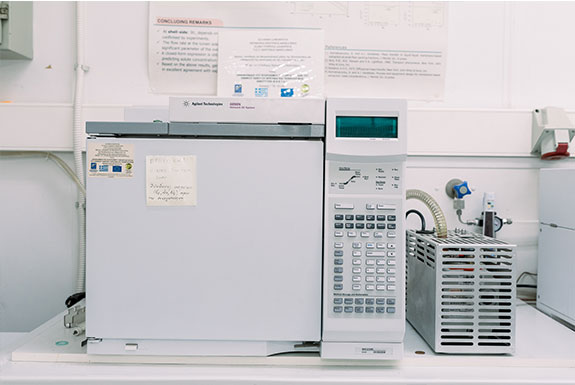 Chromatography units for organic pollutants analysis: GC/MS